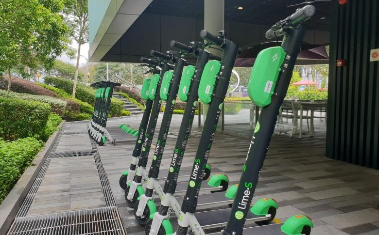 American scooter company starts sharing at Singapore Science Park